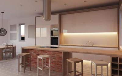 Kitchen/diner Hague Bar