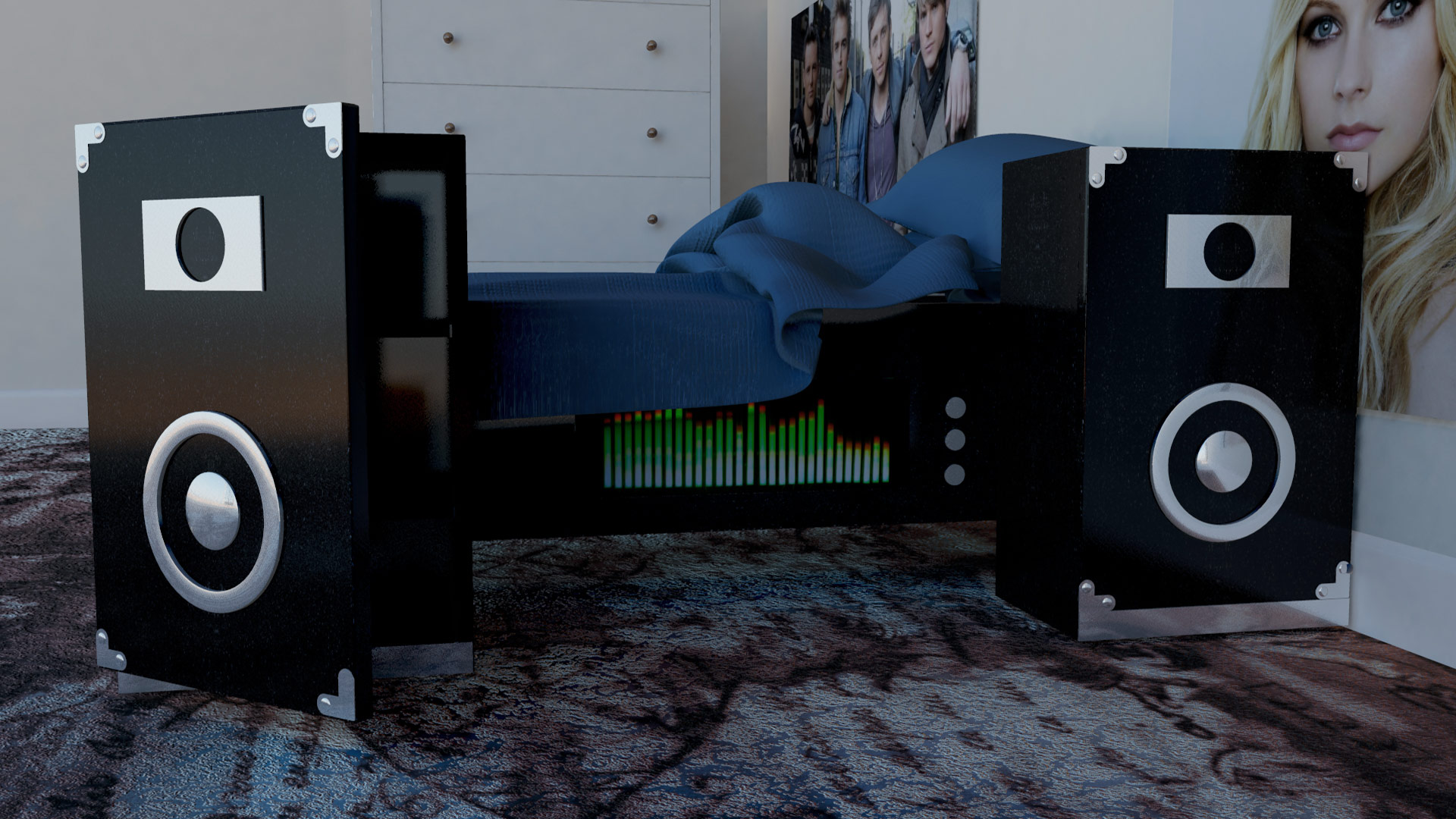 speakerbed